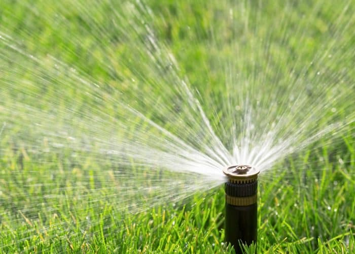 how to adjust sprinkler head